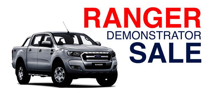 Jarvis Ford Ranger Demonstrator Sale