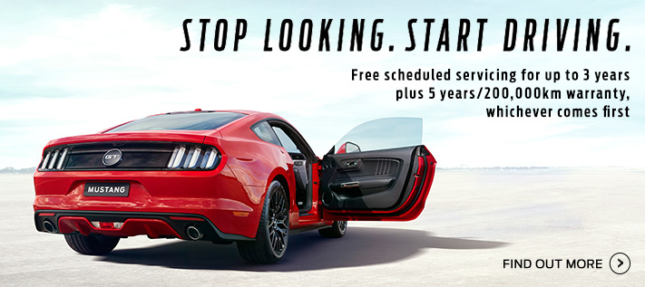 Ford Mustang Bonus Offer