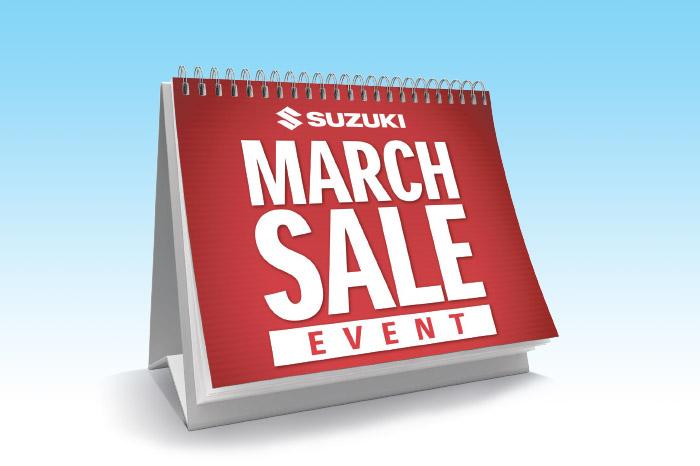Suzuki March Sale Event
