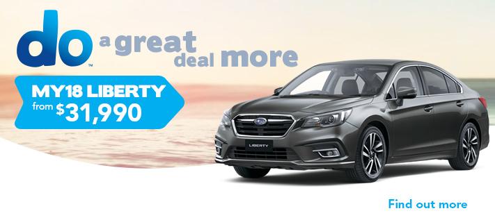 Subaru April Offer