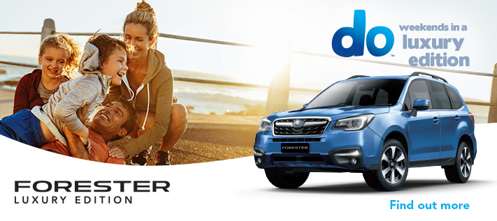 Subaru Forester Luxury Edition
