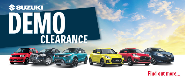 Suzuki Demo Clearance