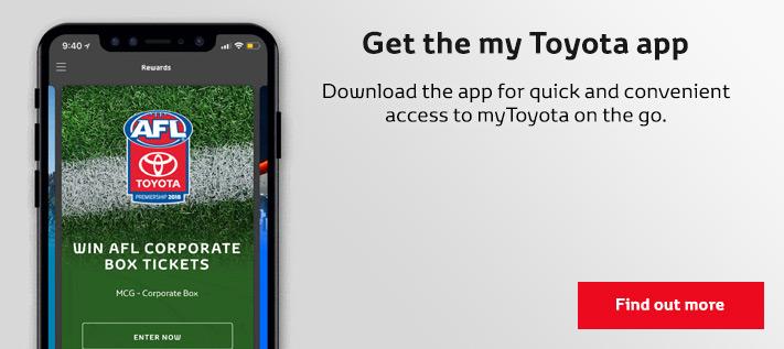 myToyota app