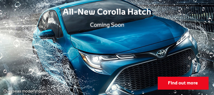 All-New Toyota Corolla - Coming Soon