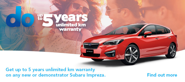 Subaru Impreza 5 years Offer