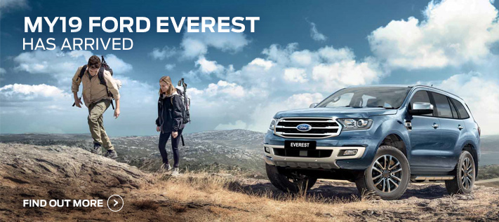 Ford Everest Now Available
