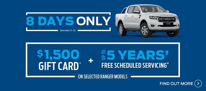 Ford 8 Day Ranger Sale