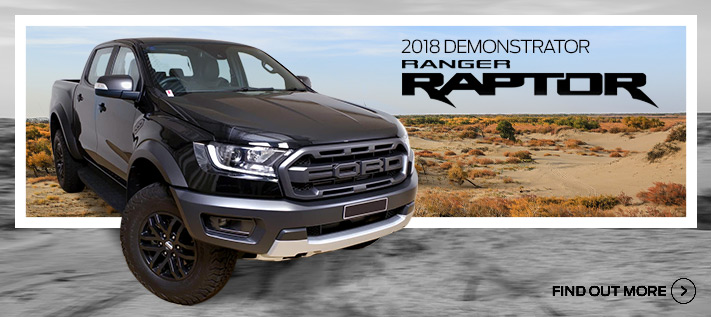 Ford Ranger Raptor Demo