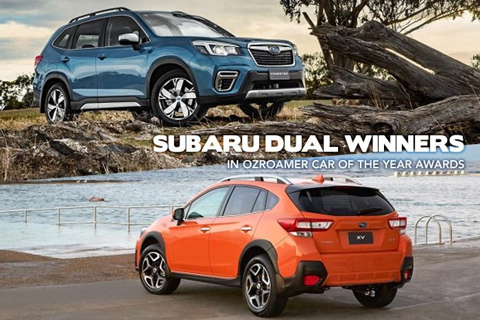Subaru Dual Winners