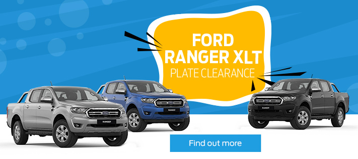 Ford Ranger XLT Plate Clearance