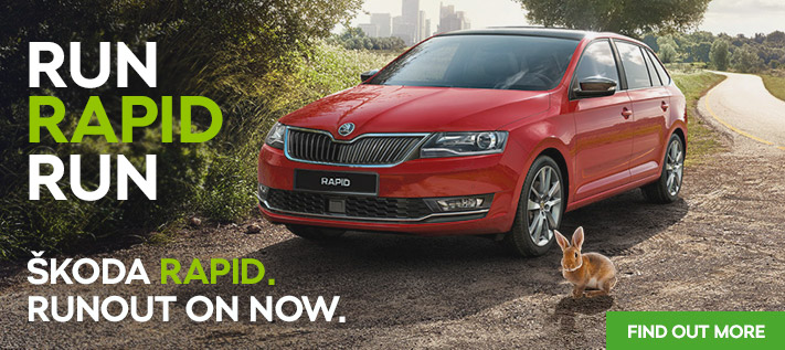 Skoda Rapid Run Out