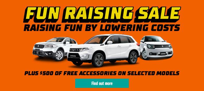Suzuki Fun Raising Sale