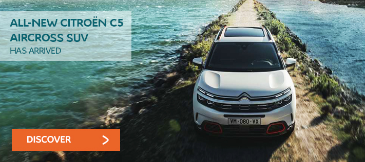 Citroen C5 Aircross Coming Soon