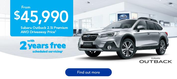 Subaru Outback Off the Leash