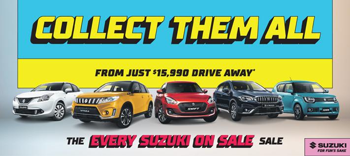 Suzuki's Every Suzuki on Sale Sale