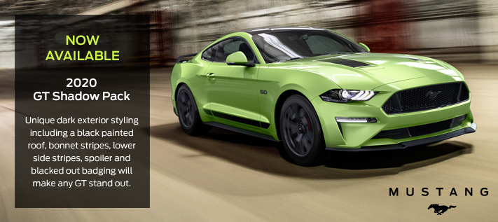 New Ford Mustang MY2020