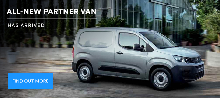Peugeot Partner Van