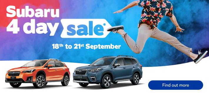 Subaru 4-Day Sale