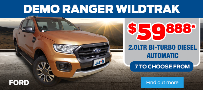 Ford - Ranger Wildtrak Demo Sale
