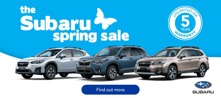 Subaru SUV Spring Sale
