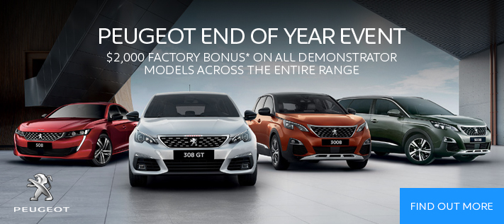 Peugeot Year End Event Demo Sale