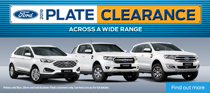 Ford Plate Clearance Copy