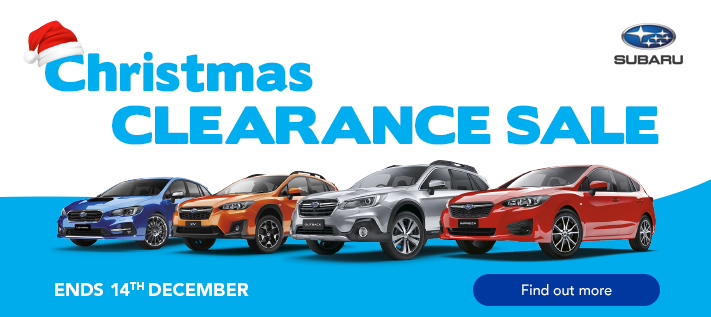 Subaru - Christmas Clearance Sale