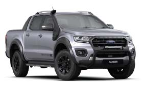 Ford Ranger Wildtrak X Alumnium Silver