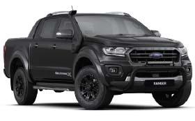 Ford Ranger Wildtrak X Shadow Black