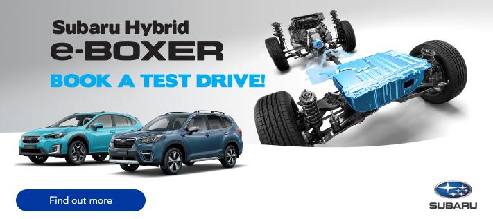 Subaru Hybrid Test Drive Copy