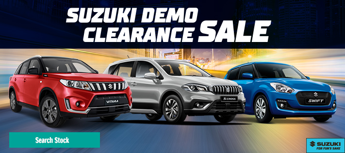 Suzuki Demo Clearance Sale