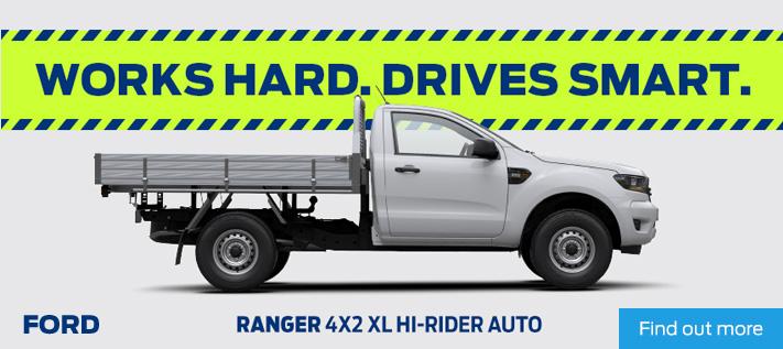Ford Ranger Works Harder