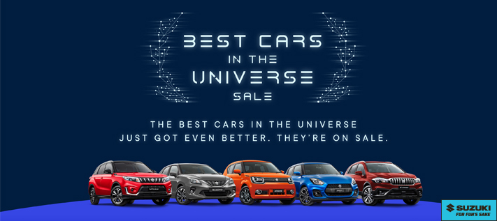 Suzuki - Best Cars in the Universe