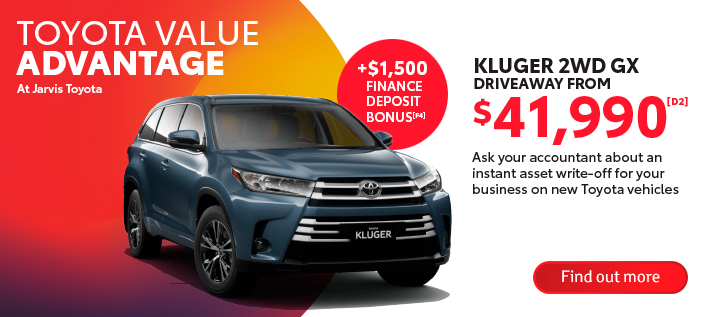 Toyota Value Advantage Kluger