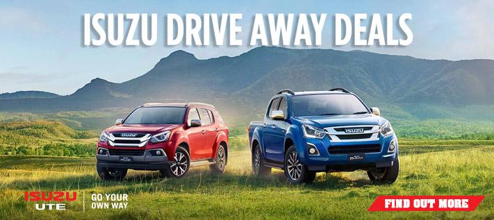 Isuzu Driveaway Deals