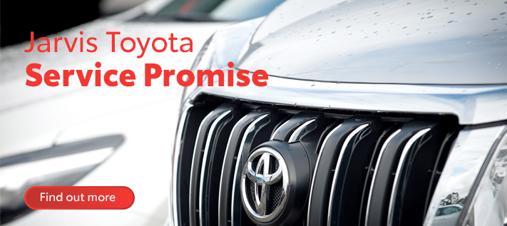 Jarvis Toyota Service Promise