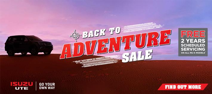 Isuzu Adventure Sale