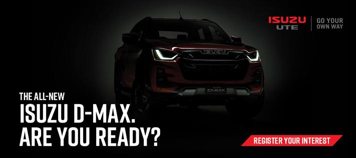 Isuzu D-max Is Coming