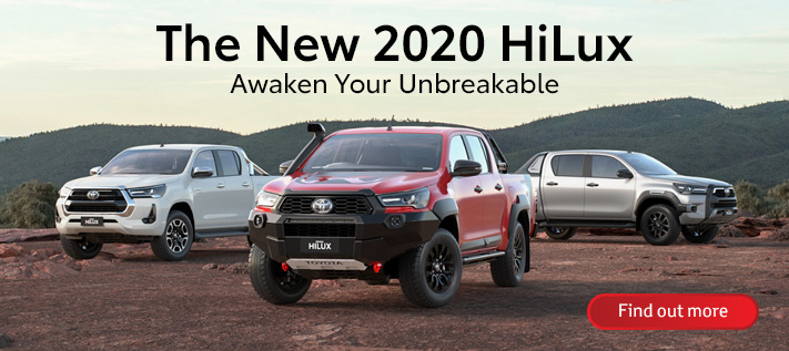 Toyota All-New HiLux - Now Available