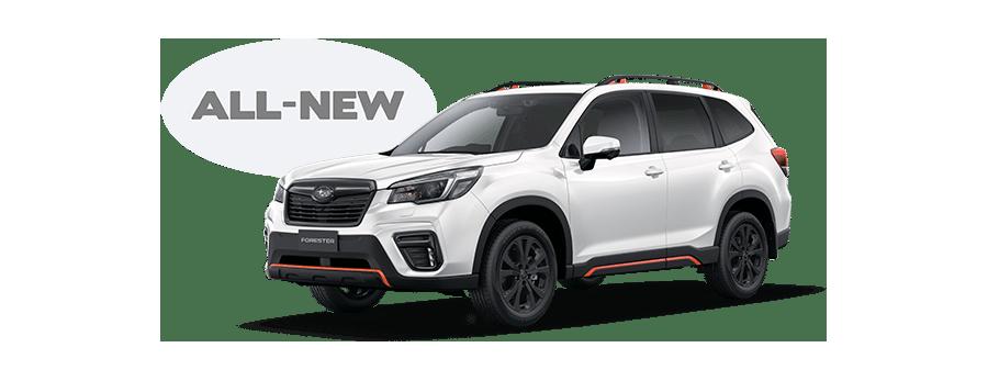 All-new Subaru Forester Sport