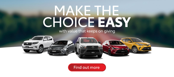 Toyota Make the Choice Easy