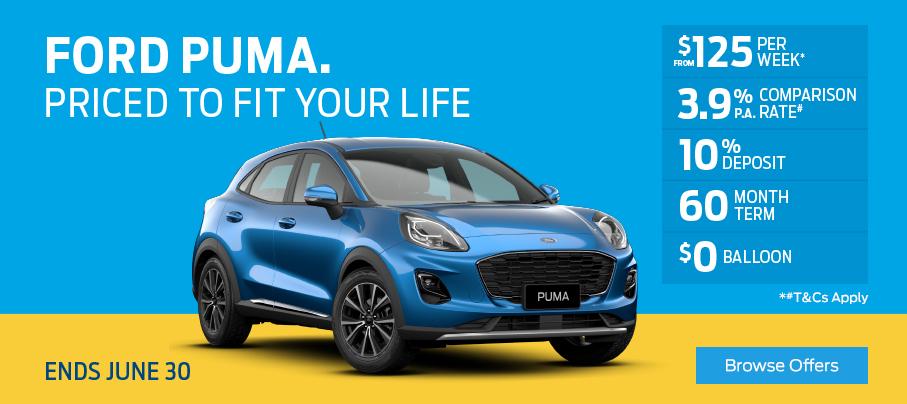 Ford Puma Finance Offer