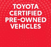 Toyota Certified Advantage