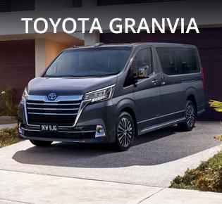 New Toyota Granvia