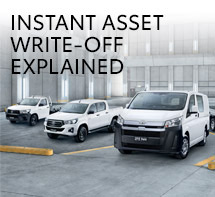 Toyota Instant Asset Write-off