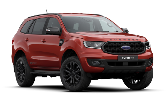 All-new Ford Everest Sport