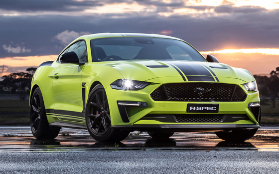 Upcoming Ford Mustang R-Spec