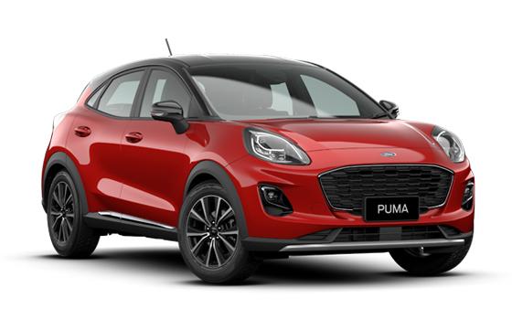 Upcoming Ford Puma