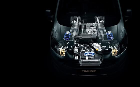 Ford Transit Custom Engine