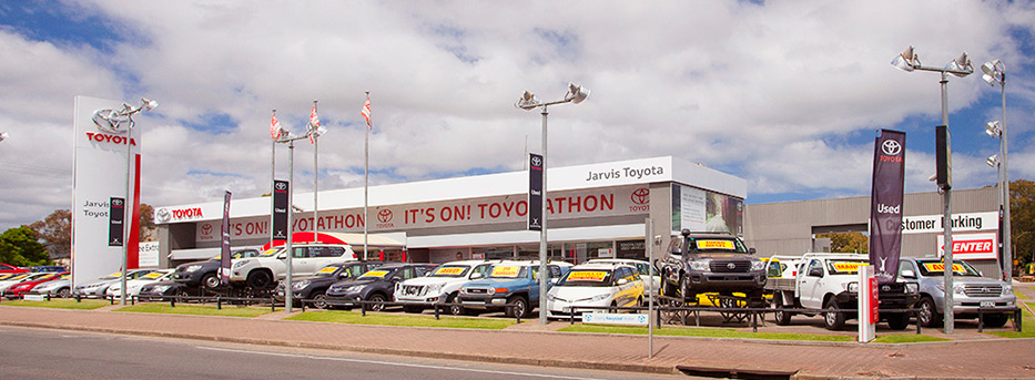 Jarvis Toyota History